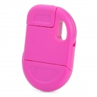 Compact Folding USB Daten / Ladekabel für iPhone 4 / 4S - Deep Pink