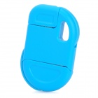 Compact Folding USB Daten / Ladekabel für iPhone 4 / 4S - Blue