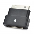 Male to Female Extension Dock Extender 30 pin Adapter for Samsung Galaxy Tab - Black