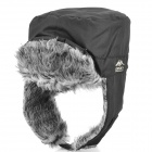 Topsky Outdoor Ear Protection Cold-proof Wind Snow Hat - Black (Free Size)