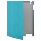 "ROCK ""Eternal"" Series Protective PU Leather Case for New Ipad / Ipad 2 - Green"