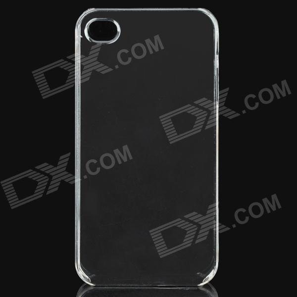 Simple caso protector de silicona para Iphone 4 / 4S - blanco transparente