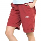 Women's Topsky Outdoor Quick Dry Shorts Pants - Red (Size-M)
