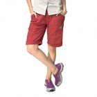Topsky Outdoor Quick Dry Shorts Pants - Red (Size-XL)