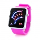 Multi-Function Retro Silicone Band Digital LED Wrist Watch (1 x CR2016)