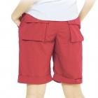 Women's Topsky Outdoor Quick Dry Shorts Pants - Red (Size-L)