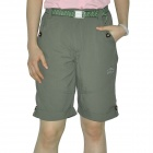 Women's Topsky Outdoor Quick Dry Shorts Pants - Army Green (Size-L)