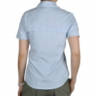 Topsky Outdoor Quick Dry Short Sleeves Shirt for Women - Light Blue (Size-M)