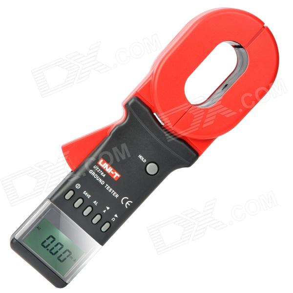 UNI-T UT278A 2.0 LCD Earth Ground Resistance Clamp Meter - Red + Grey (4 x AA)