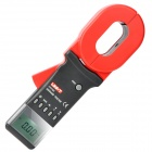 "UNI-T UT278A 2.0"" LCD Earth Ground Resistance Clamp Meter - Red + Grey (4 x AA)"
