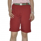 Topsky Women's Outdoor Quick Dry Shorts Pants - Red (Size-S)