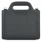 Unique Handbag Shoulder Bag Style Protective Smart Cover Case for iPad 2 / The New iPad - Black