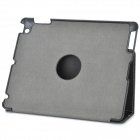 Ultra-Slim Protective PU Leather + ABS Case w/ Stand & Stylus Pen for New Ipad / Ipad 2 - Black