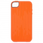 Stylish Protective TPU Case for iPhone 4 / 4S - Orange