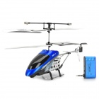 Apple/Android Phones Wireless Remote Control 3-CH Helicopter with 300KP Camera & Gyroscope - Blue