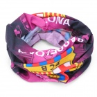 Multifunction Outdoor Sports Barcelona FC Logo Seamless Head Scarf