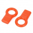 USB 2.0 Micro SD / TF Memory Card Reader - Orange (2-Pack)