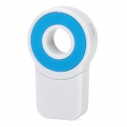 Round Style USB 2.0 Micro SD / TF Card Reader - Blue + White (8GB)
