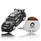 Android Remote Control 4-CH Racing Car Model - Black