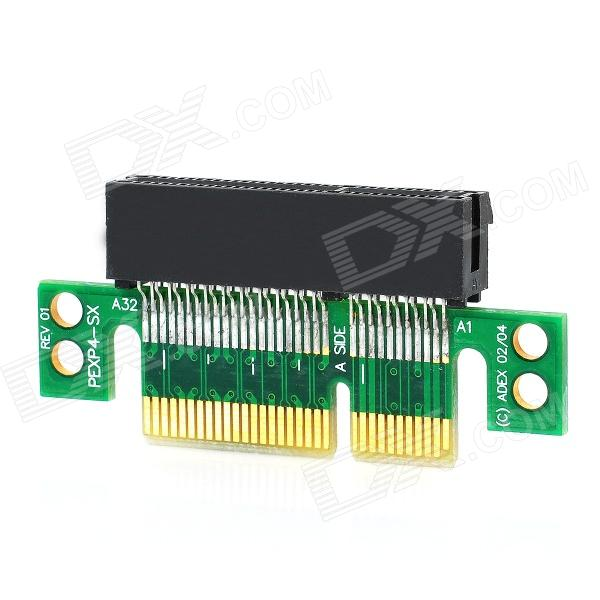 PCI Express PCI-E 4X Riser Extender Card for 1U / 2U pci e 16x экспресс 90 градусов адаптер riser card для 2u серверные корпуса компьютера