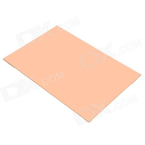 Universal DIY Single Sided Bakelite Plate Board - Brown