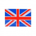 DIY Cool UK National Flag Pattern Car Reflective Sticker - Red + Blue + Silver