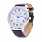 Diniho Elegant Man's White Dial Quartz Wrist Watch (1 x LR626)