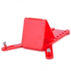 Folding 6-Angle Portable Stand Holder for iPhone / iPad / iPod / Cell Phone - Red