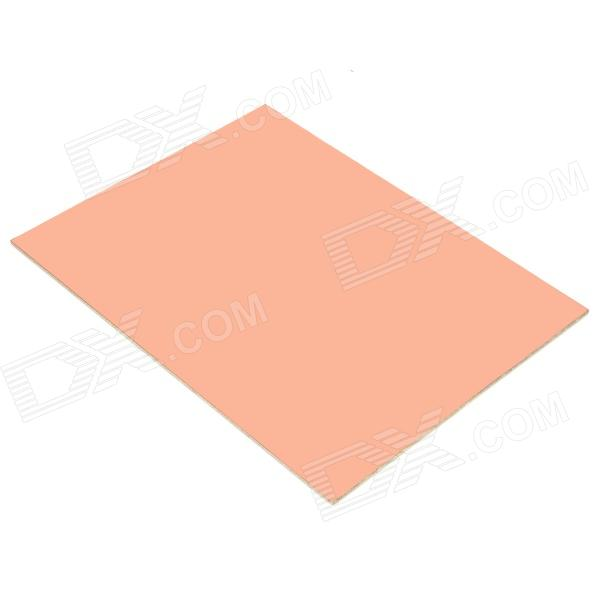 Universal DIY Double-Sided Glass Fiber Board - Brown universal diy single sided bakelite plate board brown
