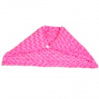USB Rechargeable Cotton Carbon Fiber Warm Keeping Shoulder Pad - Pink