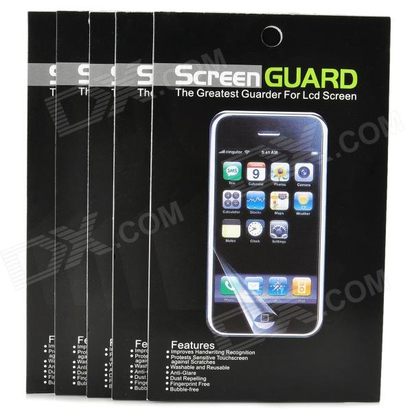 Protective PET Screen Protector Guard Film for Samsung Galaxy S3 i9300 (5-Piece Pack)