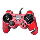 Genuine HKS Wired Racing Controller for PS2 / PS3 / PC - Red + Black