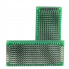 Universal DIY Double-Sided Glass Fiber Board - Green (5-Piece Pack)