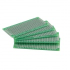 Universal DIY dupla face Fiber Glass Board - Green (5-Piece Pack)