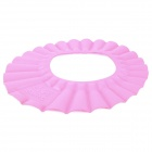 DAHOC Soft Baby Child Bath Shampoo Shower Cap Hat - Pink