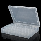 Removable Dividers 40-Compartment Plastic Storage for Small Gadgets