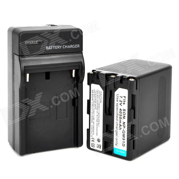 Replacement Qm91d 7 2v 4050mah Battery Pack W Charger For