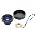 FE-12 180 Degree Fish Eye Lens for Cellphone and Digital Camera - Black