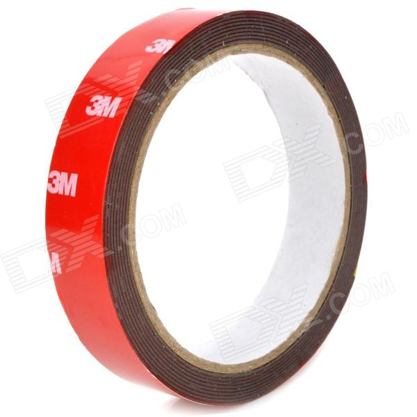PET Double Sided Adhesive Tape - Red (3M) 150mm 55m 300lse pet ultra strong adhesion double sided sticky tape for electronics touch panel nameplate frame display assemble