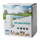 Cylindrical Style Anion Aroma Diffuser Humidifier - White (100ml)