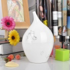 Water-drop Style Anion Aroma Diffuser Air Refresher Humidifier - White