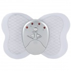 Butterfly Style Electronic Body Muscle Massager - Hellblau + Silber (2 x CR2032)