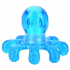 Cute Octopus Style Resin Massager - Blue