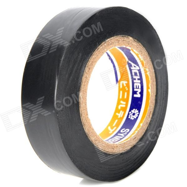 Electrical PVC Insulation Adhesive Tape - Black (18M) self adhesive hazard warning pvc tape black yellow 4 5cm x 18m