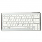 2.4GHz Mini Wireless 84-Key Keyboard w/ USB Receiver - Silver (2 x AAA)