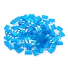 12V 15A Car Power Fuses - Blue (100-Piece Pack)