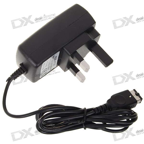 UK AC Adapter for NDS/GBA SP (100V~250V AC)