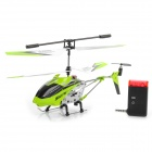 iPhone / Android Controlled Rechargeable 3.5-CH R/C Helicopter w/ Gyro - Green + White