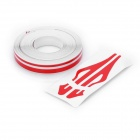 Decorative PET Stripe Car Body Sticker Line - Red