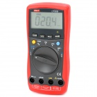 "UNI-T UT60B 2.8"" LCD Digital Multimeter - Red + Grey (1 x 9V 6F22)"